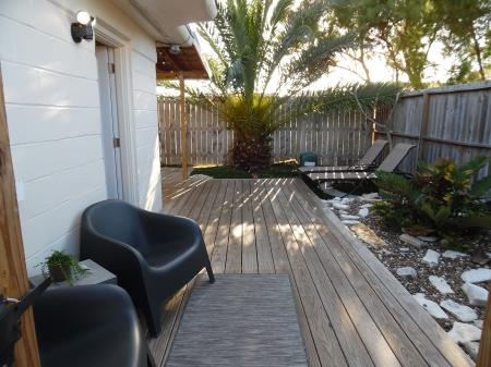 Click to enlarge image Welcome to La Perla! - La Perla, Gorgeous remodel, 1 BR 1 BA Cottage, Fenced Yard, Backyard Oasis -