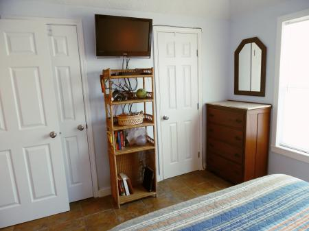 Click to enlarge image Two large closets in each bedroom - Trout Quarters - 2 Bedroom townhouse 3 blocks from the beach