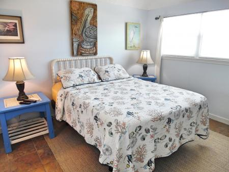 Click to enlarge image This bed has a massage setting! - Trout Quarters - 2 Bedroom townhouse 3 blocks from the beach
