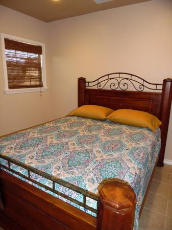 Click to enlarge image Queen bedroom - LOVE'S NEST - 2 BR 1 BA Lower Apartment. Walk to the beach!