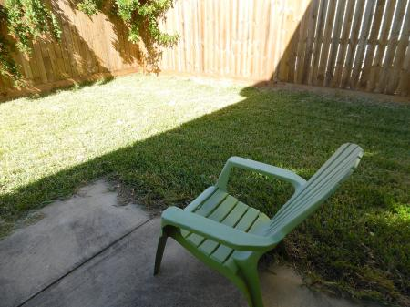 Click to enlarge image Very private yard with charcoal grill - LOVE'S NEST - 2 BR 1 BA Lower Apartment. Walk to the beach!