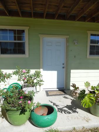 Click to enlarge image Front door enters into open kitchen, dining, living rooms - LOVE'S NEST - 2 BR 1 BA Lower Apartment. Walk to the beach!