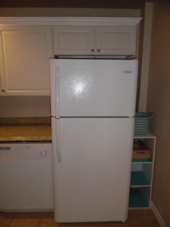 Click to enlarge image Full sized fridge and freezer - LOVE'S NEST - 2 BR 1 BA Lower Apartment. Walk to the beach!