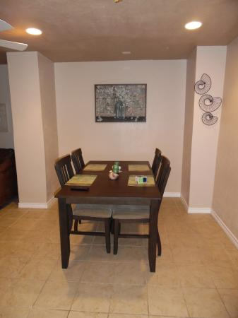 Click to enlarge image Lovely seating for four - LOVE'S NEST - 2 BR 1 BA Lower Apartment. Walk to the beach!