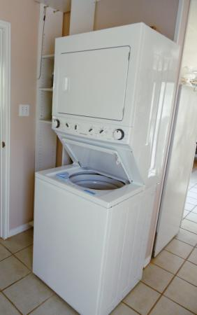 Click to enlarge image Washer/dryer for your convenience - Cottage in the Dunes - One Bedroom Cottage with pool