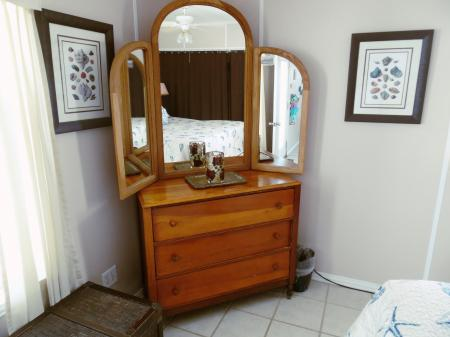 Click to enlarge image Dresser for extra storage - Cottage in the Dunes - One Bedroom Cottage with pool